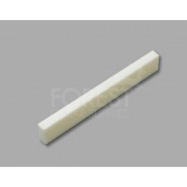 Bone nut blank for TL or ST style guitars flat 43x6x3.2mm