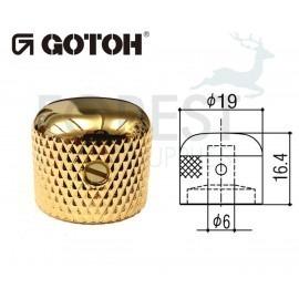 Gotoh VK3 dome metal Knob gold 19 mm