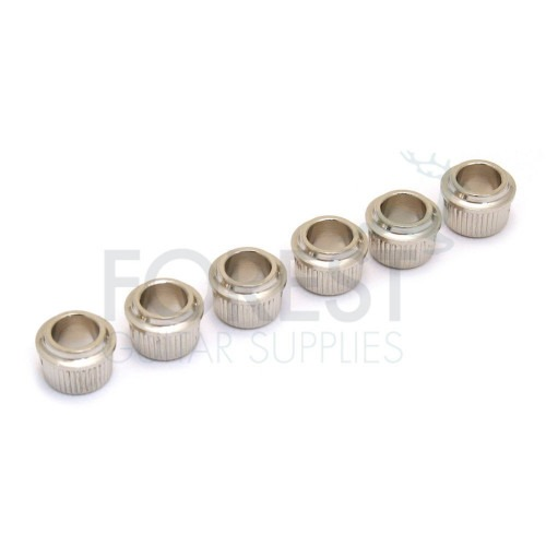 Tuner adapter/conversion reducer press in busing for 10mm hole, Nickel finish