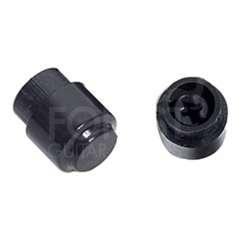 Fender Telecaster aftermarket round switch tip black