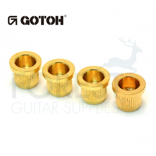 Gotoh TLB2 Bass guitar string ferrules gold set of 4