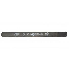 """0.016"""" Guitar nut slotting gauge file Uo-Chikyu ® Hiroshima files, Made in Japan"""