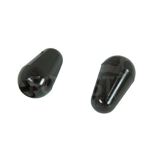 Fender Stratocaster style switch tip black