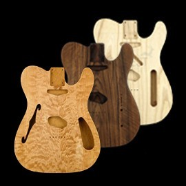 Telecaster ® style bodies